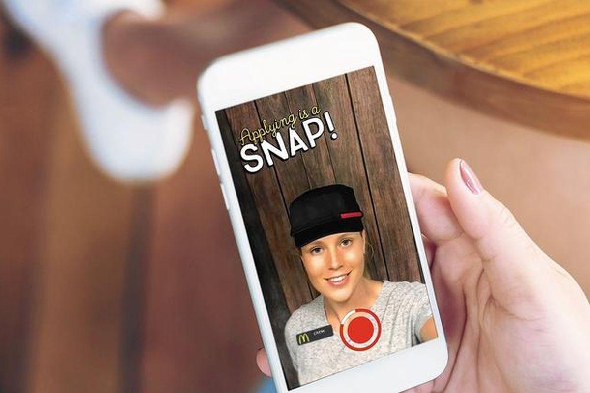 Snapchat jelentkezés
