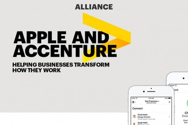 Apple és Accenture együttműködés