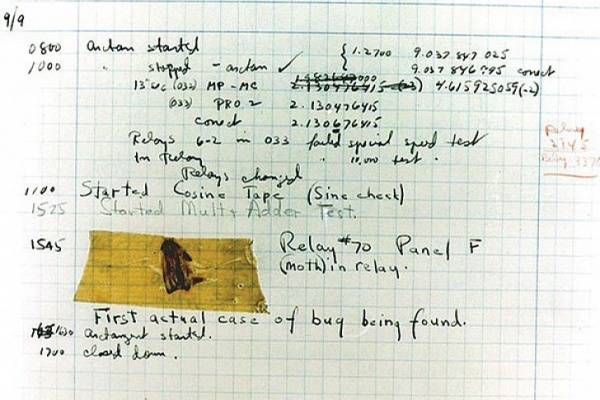 """Honnan származik a """"bug"""" kifejezés?"""