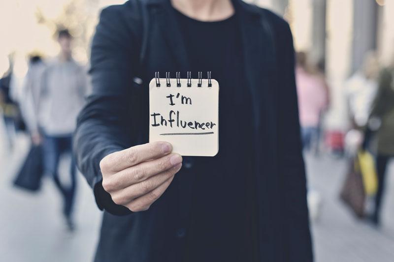 Self-made influencerek