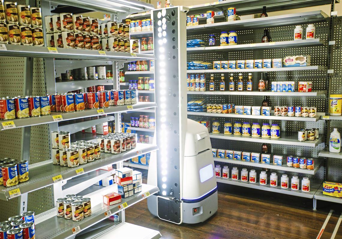 robot shopping ai wallmart