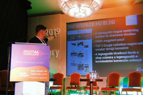Boroznaki Gergő előadása a Media Hungary -n