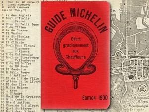 Michelin Guide a XX. század elejéről