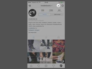 Instagram analitika: profilod statisztikáit a főképernyőről érheted el