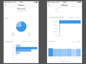 Instagram analitika: információ és statisztika a követőidről