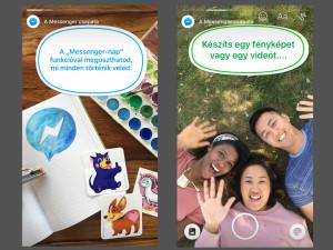 """Itt a """"Messenger Day"""" határozottan Snapchat-szerű funkciókkal"""