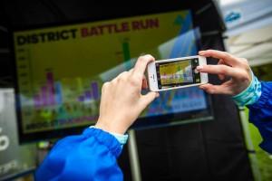 adidas DISTRICT BATTLE RUN eredményjelző